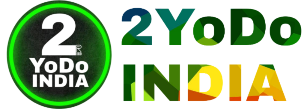 2YODOINDIA   TO YOUR DOOR   LITTLE BIT EVERYTHING YOU NEED TO KNOW LOGO