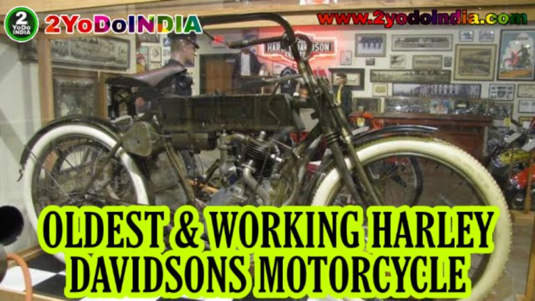 MEET ONE OF THE WORLD OLDEST AND WORKING HARLEY DAVIDSONS. 2YODOINDIA