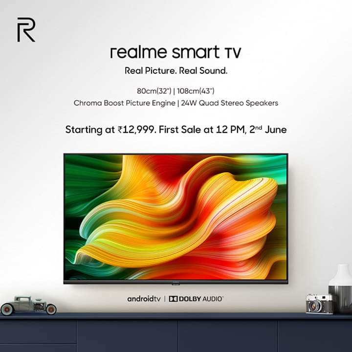 Realme Smart TV Launched in India | Price | Specifications | Features | Availability | Other Features 2YODOINDIA | BLOG BY RAHUL RAM DWIVEDI | RRD