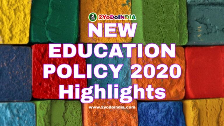 Know Everything About The New Education Policy 2020 Approved By The Union Cabinet   2YODOINDIA   BLOG BY RAHUL RAM DWIVEDI   RRD