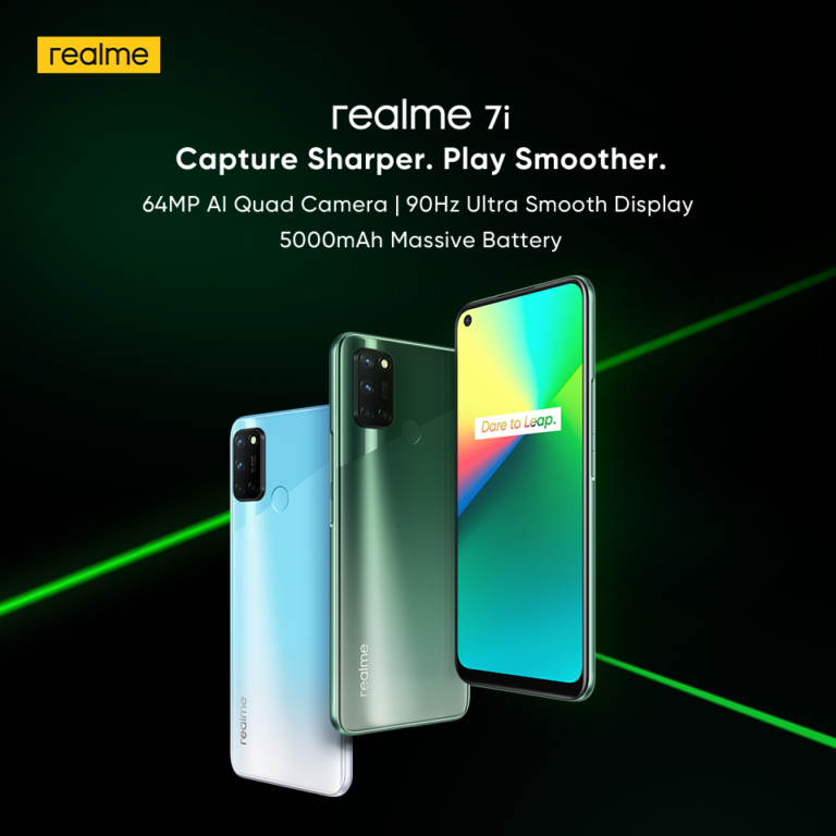 Realme 7i Launched in India   price in india   specifications   features   2YODOINDIA   BLOG BY RAHUL RAM DWIVEDI   RRD