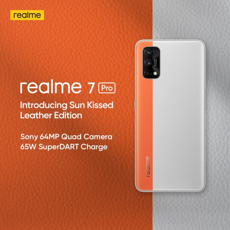 Realme 7 Pro Sun Kissed Leather Edition Launched in India   price in india   specifications   features   2YODOINDIA   BLOG BY RAHUL RAM DWIVEDI   RRD