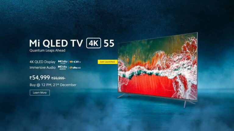Mi QLED TV 4K Launched in India | Dolby Vision | Price at Rs. 54,999 | Price in india | specifications | 2YODOINDIA | BLOG BY RAHUL RAM DWIVEDI | RRD