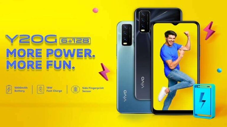 Vivo Y20G Launched in India | Price in India | Specifications | Features | 2YODOINDIA | BLOG BY RAHUL RAM DWIVEDI | RRD