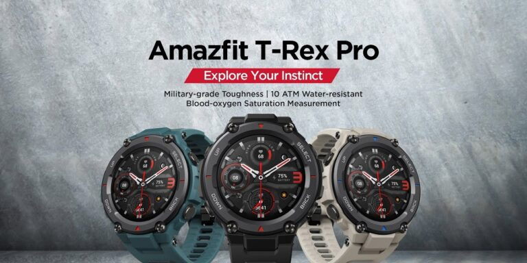 Amazfit T-Rex Pro Launched in India   Price in India   Specifications   2YODOINDIA
