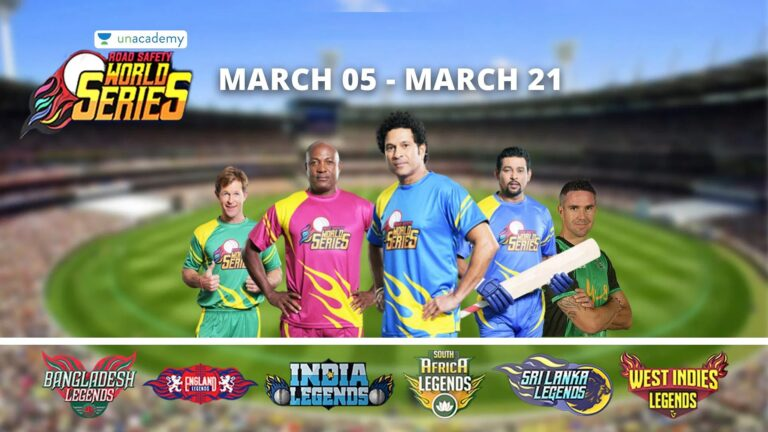 Road Safety World Series T20 2021 : Teams   Team Squad   Full Schedule   How to Watch Livestream   Teams in Road Safety World Series 2021   Road Safety World Series T20 Team Squad   Road Safety World Series T20 Fixtures   How to Watch Livestream of Road Safety World Series T20 in India   2YODOINDIA   BLOG BY RAHUL RAM DWIVEDI   RRD