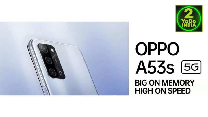Oppo A53s 5G Launched in India   Price in India   Specifications   2YODOINDIA