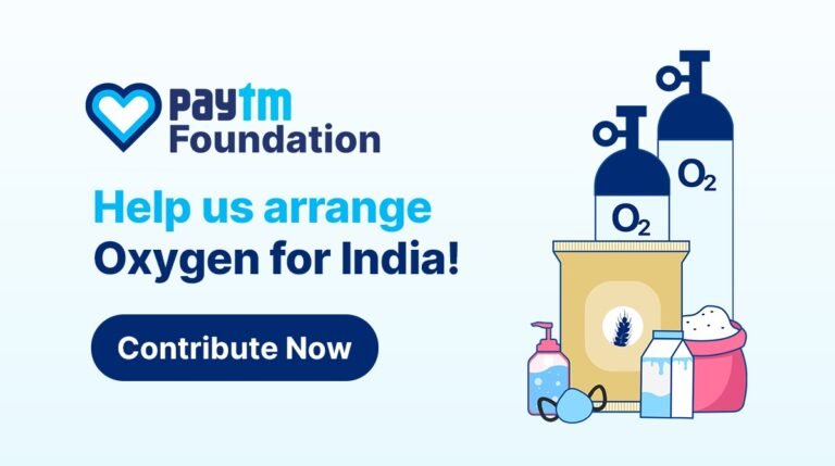 Paytm & CRED Launched Initiatives to Tackle Oxygen Shortages   2YODOINDIA
