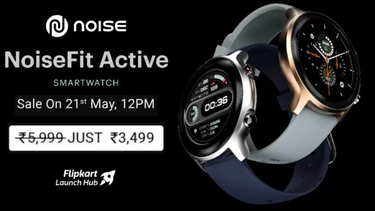 NoiseFit Active Smartwatch Launched in India | Price in India | Specifications | 2YODOINDIA