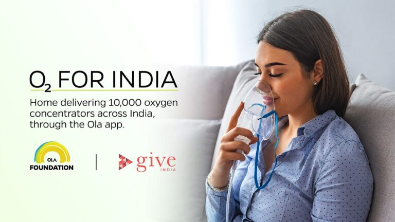 Ola & O2forIndia to Offer Free Delivery of Oxygen Concentrators in India   2YODOINDIA
