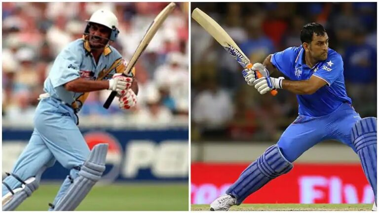 Mohammad Azharuddin Invented 'Helicopter Shot' before MS Dhoni made it famous   Watch Videos   Mahendra Singh Dhoni   Mohammad Azharuddin   2YODOINDIA