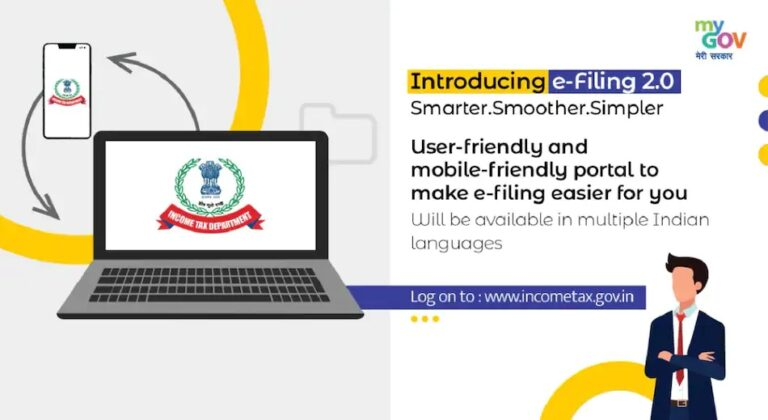 Income Tax Department Tax Filing Site in a New Avatar with New Features Launched   New eFiling Portal   2YODOINDIA