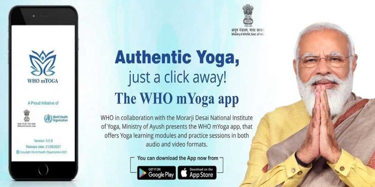 All You Need to Know About the mYoga App Launched by PM on Yoga Day 2021   What is mYoga App   How was mYoga App Developed   Who collaborated for mYoga app   What about mYoga app Data Privacy   Which languages in mYoga app available   2YODOINDIA