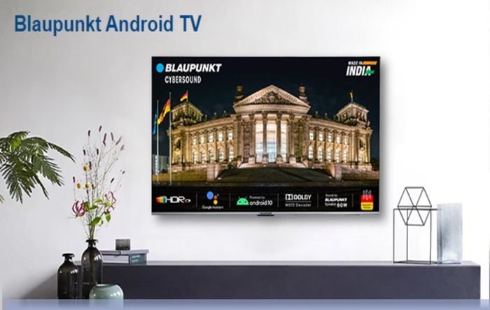 Blaupunkt CyberSound Series Smart Android TV Range Launched in India | Price in India | Specifications | 2YODOINDIA
