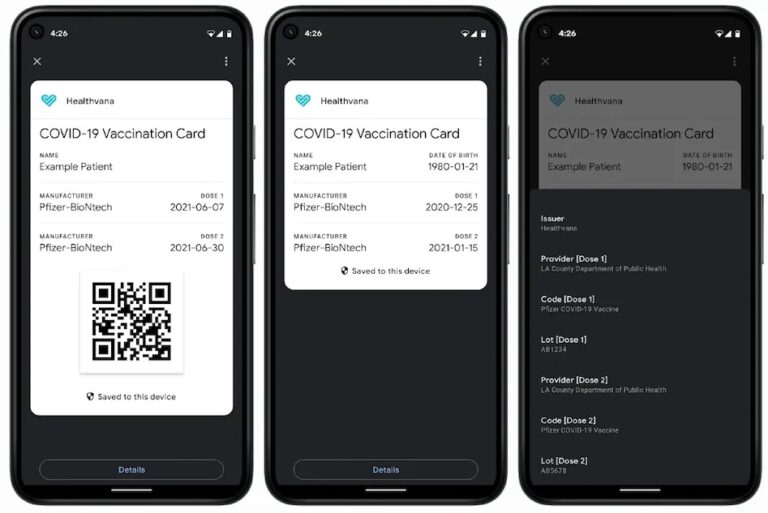 Google Now Support to Display COVID-19 Vaccine & Test Certificates Natively on Android Devices | How to Store COVID Card on your Android Phone | 2YODOINDIA