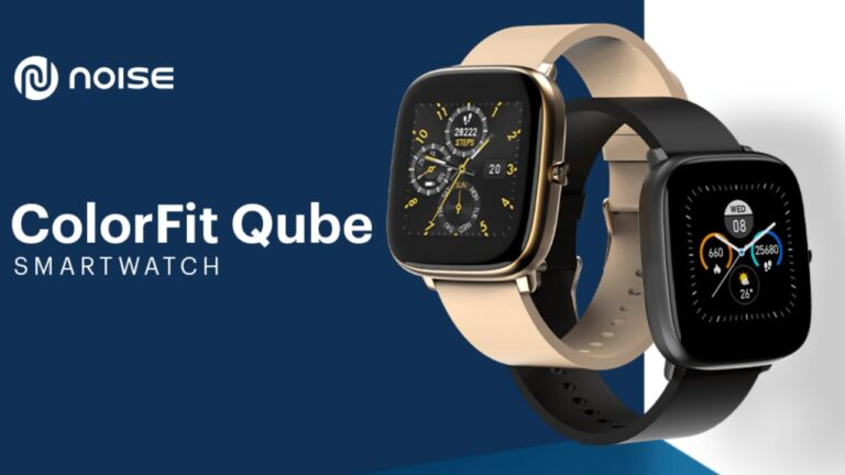 Noise ColorFit Qube Smartwatch Launched in India | Price in India | Specifications | 2YODOINDIA