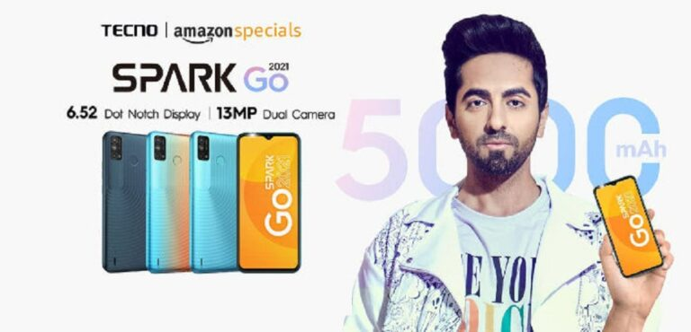 Tecno Spark Go 2021 Launched in India | Price in India | Specifications | 2YODOINDIA