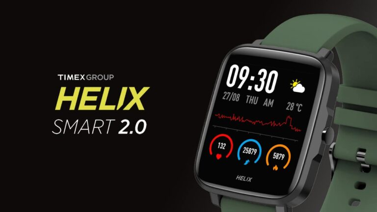 Timex Helix Smart 2.0 Launched in India | Price in India | Specifications | 2YODOINDIA