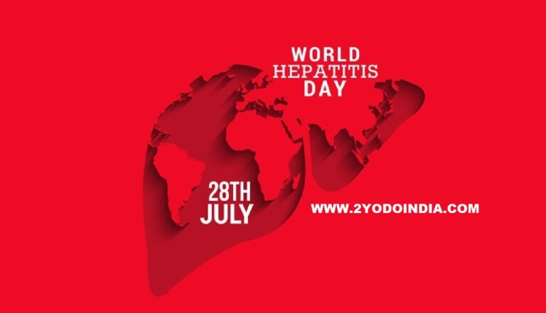 World Hepatitis Day : Everything which you need to know about Viruses that cause the Disease | Covid-19 and Liver disease | 2YODOINDIA