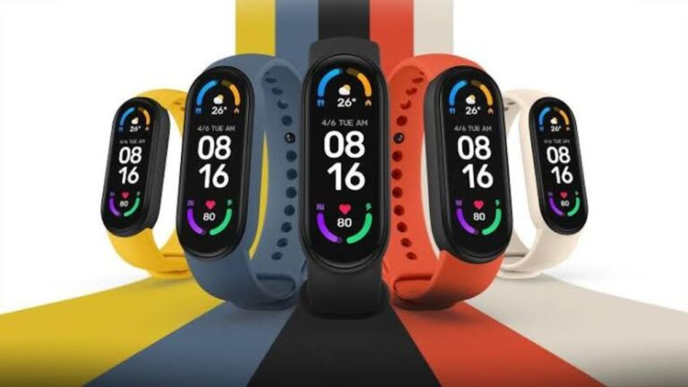 Mi Smart Band 6 Launched in India   Price in India   Specifications   2YODOINDIA