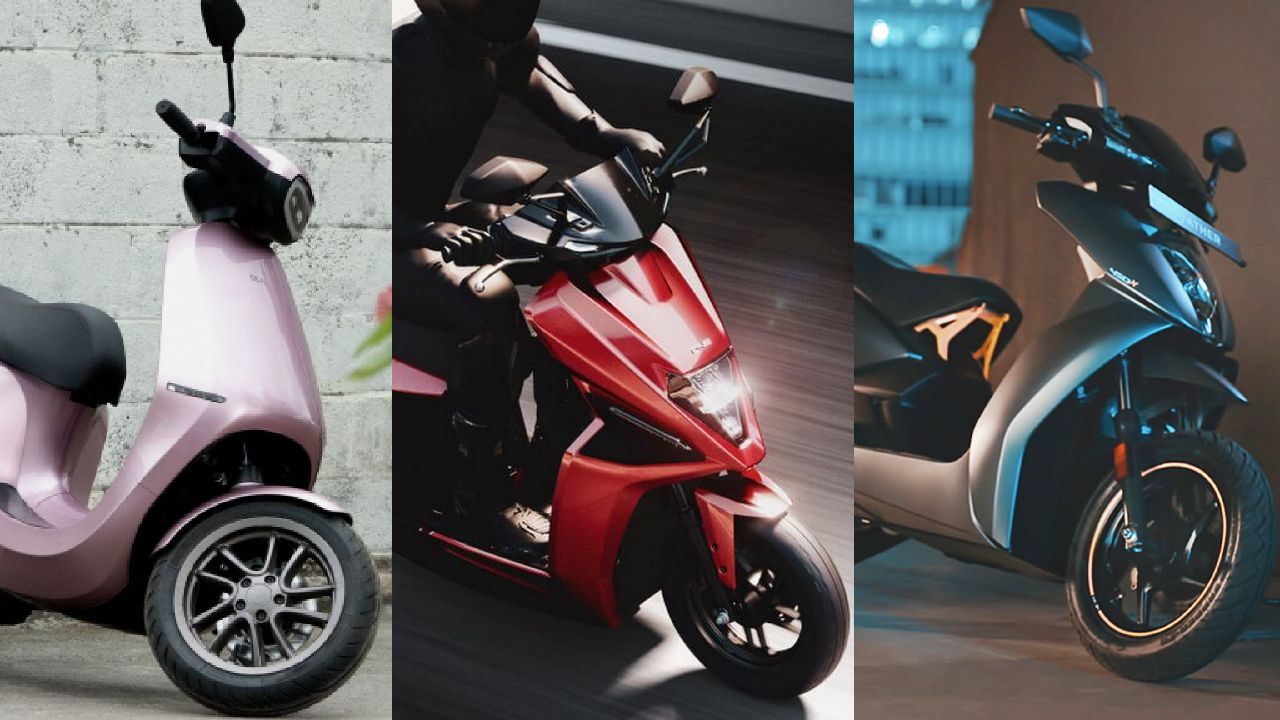 Ola S1 Pro Vs Simple One Vs Ather 450X   2YoDo Detailed Review of Electric Scooters   Range   Battery   Charging Time   Fast Charging   Top Speed   Acceleration   Features   Price in India   2YODOINDIA