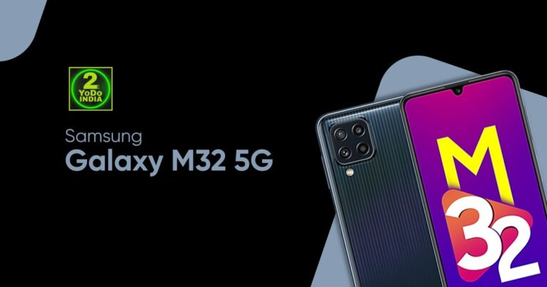 Samsung Galaxy M32 5G Launched in India   Price in India   Specifications   2YODOINDIA
