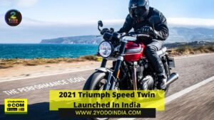 2021 Triumph Speed Twin Launched In India   Price in India   Mechanical Specifications   2YODOINDIA