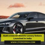 Audi e-tron GT Electric Luxury Sedans Launched In India | Price in India | Mechanical Specifications | 2YODOINDIA