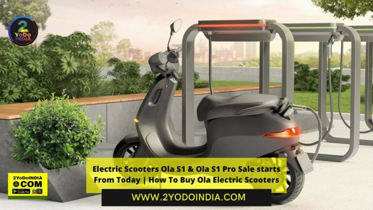 Electric Scooters Ola S1 & Ola S1 Pro Sale starts From Today | How To Buy Ola Electric Scooters | Test Rides | Delivery Timelines | Insurance | Warranty | Service | Subsidy Details | 2YODOINDIA