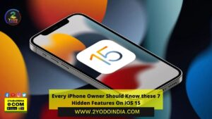 Every iPhone Owner Should Know these 7 Hidden Features On iOS 15 | Drag and Drop| Translate any Text | Precipitation Alert| Scan Any Text | Adjust Text Size in Apps| Record What Apps Are Tracking About You| Track your iPhone without Power | 2YODOINDIA
