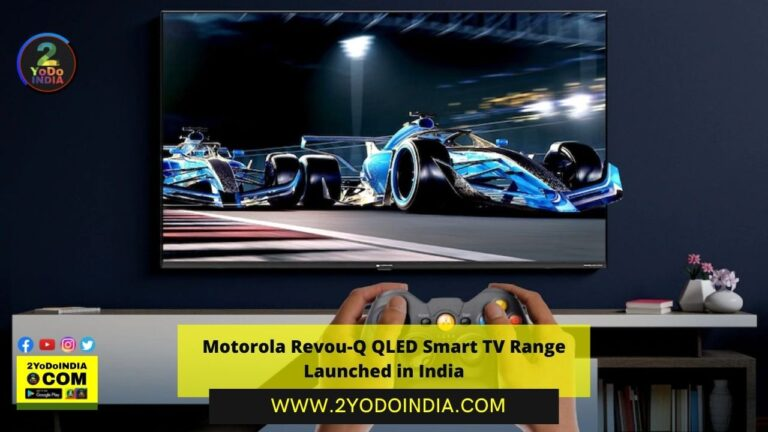 Motorola Revou-Q QLED Smart TV Range Launched in India   Price in India   Specifications   2YODOINDIA
