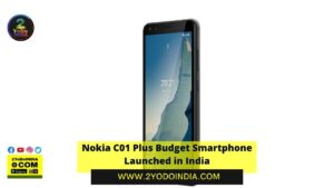 Nokia C01 Plus Budget Smartphone Launched in India | Price in India | Specifications | 2YODOINDIA