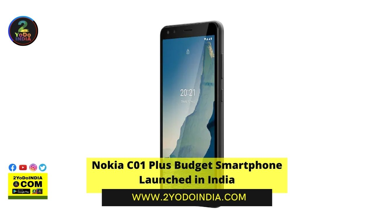 Nokia C01 Plus Budget Smartphone Launched in India   Price in India   Specifications   2YODOINDIA