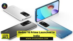 Redmi 10 Prime Launched in India   Price in India   Specifications   2YODOINDIA