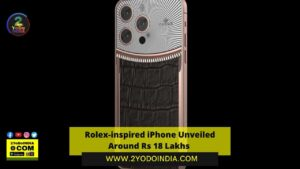 Rolex-inspired iPhone Unveiled Around Rs 18 Lakhs   Price   Specifications   2YODOINDIA