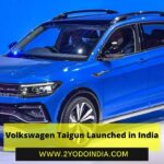 Volkswagen Taigun Launched in India | Price in India | Mechanical Specifications | 2YODOINDIA