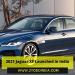 2021 Jaguar XF Launched in India | Price in India | Mechanical Specifications | 2YODOINDIA