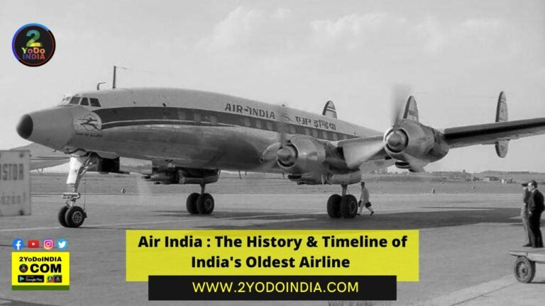Air India : The History & Timeline of India's Oldest Airline | 1932 : How Airline started | 1947 : Nationalisation | 1960 : Introduction of Boeing aircraft | 2018 : Failed privatisation bid | 2020 : Disinvestment | 2021 : Tata Sons wins bid for Air India | 2YODOINDIA