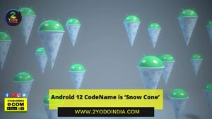 Android 12 CodeName is 'Snow Cone'   2YODOINDIA