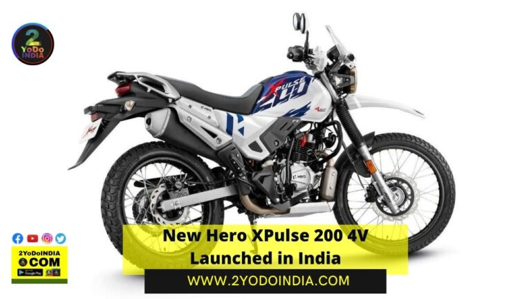New Hero XPulse 200 4V Launched in India | Price in India | Mechanical Specifications | 2YODOINDIA