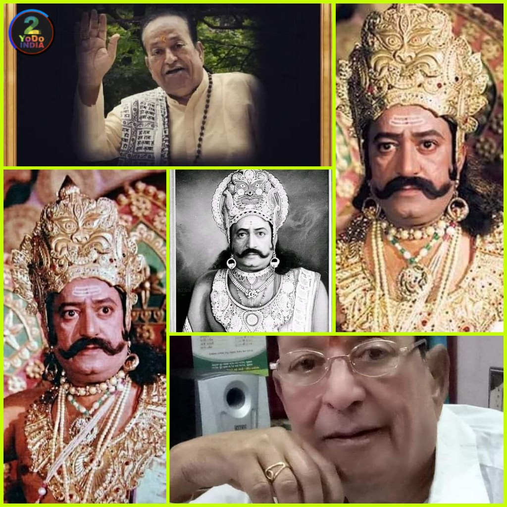 RIP Arvind Trivedi Ji : Most Loved Ravana in the History of Indian Television   2YODOINDIA
